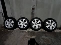 Комплект летних колес R16 Nissan. 6.0x16 5x114.30 ET45 ЦО 66,0мм.