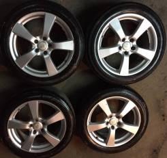 Колеса R18 225/50-18 с новой Японской резиной Dunlop. 7.5x18 5x114.30 ET48