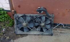 Радиатор охлаждения двигателя. Mitsubishi ASX, GA3W Двигатель 4B10