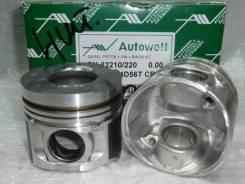 Поршень. Mitsubishi D Mitsubishi Pajero Двигатели: 4D56, 4D56CRDI, 4D56UTI