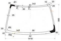 Стекло лобовое. Nissan Expert Nissan Avenir, PW11, W11