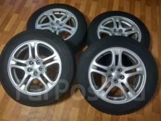 Оригинальные колеса Субару 215/60R17. 7.0x17 5x100.00 ET55 ЦО 56,1мм.