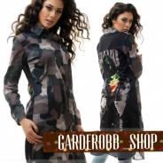 Блуза-рубашка хаки 3514501