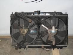 Радиатор охлаждения двигателя. Nissan Primera, QP11