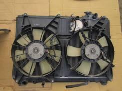 Радиатор охлаждения двигателя. Toyota Harrier Двигатель 1MZFE