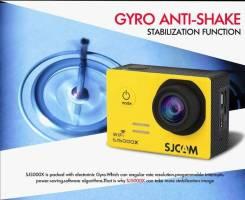 Экшн-камера SJ5000X Elite (поддержка 4k видео, WiFi, 2 батарейки)