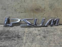 Эмблема багажника. Toyota Ipsum, ACM21W