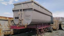 Чмзап 9520. Чмзап-9520-030 Самосвальный рессорный полуприцеп 2011, 40 000 кг.