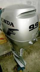 Honda. 9,90л.с., 4х тактный, бензин, нога S (381 мм), Год: 2004 год