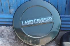 Колпак запасного колеса. Toyota Land Cruiser