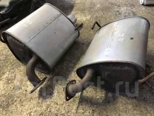 Насадка на глушитель. Subaru Legacy, BRM, BR9, BRF, BRG