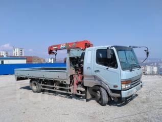 Услуги грузовика с краном, грузоперевозки. 5т