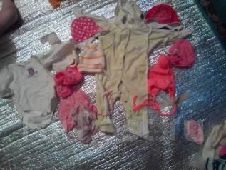 Детские вещи на девочку с рождения до года и игрушки