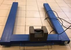Весы паллетные (балочные, стержневые) электронные новые с поверкой