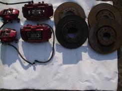 Суппорт тормозной. Mitsubishi Lancer Evolution, CT9A, CD9A, CE9A, CN9A, CP9A Двигатель 4G63