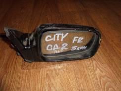 Зеркало заднего вида боковое. Honda City, GA2