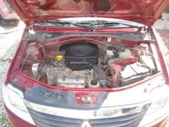 Суппорт тормозной Renault Logan K7MF710 1.6, правый передний