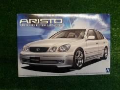 Модель Toyota Aristo JZS161 V300 масштаб 1:24 для сборки (склеивания)