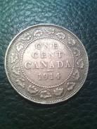 Канада 1 цент 1914г.