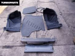 Обшивка багажника. Toyota Belta, SCP92, NCP96, KSP92 Двигатели: 2SZFE, 2NZFE, 1KRFE