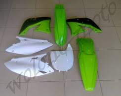 Комплект пластика Polisport KX450F 09-11 ЧЕРНО-ЗЕЛЕНЫЙ 90250