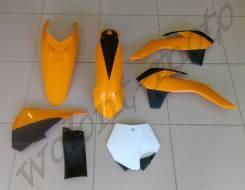 Комплект пластика Polisport KTM SX85 13-14 ОРАНЖЕВЫЙ Polisport 90555