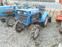 Iseki. Трактор 4wd с фрезой