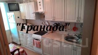 1-комнатная, улица Тухачевского 66. БАМ, агентство, 40 кв.м. Кухня