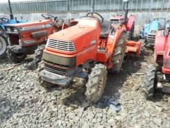 Kubota X24. Трактор 24л. с., 4wd, 4 цилиндра, фреза