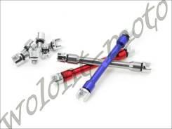 Ключ для спиц DRC 4.0-6.2 Красный D59-15-161