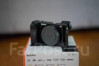 Sony Alpha ILCE-6000 Body. 20 и более Мп, зум: без зума