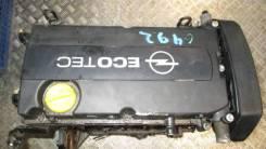 Двигатель в сборе. Opel Astra Двигатель Z18XE