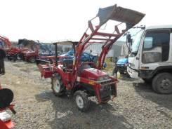 Shibaura. Трактор 16л. с., 4wd, фреза, погрузчик