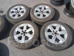 Литые диски Toyota c резиной 185/65R15. 6.0x15 5x100.00 ET45 ЦО 54,1мм.