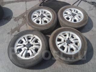 Литые диски Honda cрезиной 205/65R15. 6.0x15 4x114.30 ET50