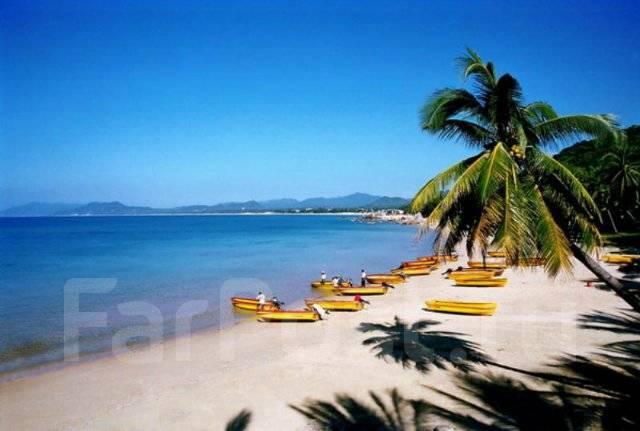 Санья. Пляжный отдых. Санья о. Хайнань.