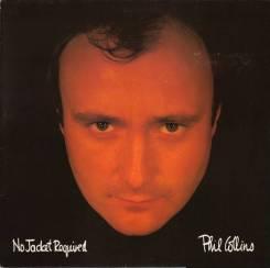 "Винил Phil Collins ""No jacket required"" 1985 Japan"