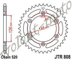 Звезда ведомая JT sprockets JTR808.43