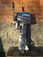 Yamaha. 8,00л.с., 2х тактный, бензин, нога L (508 мм), Год: 1995 год