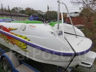 Продам лодку водомётную. Год: 2000 год, длина 4,00м., двигатель стационарный, 122,00л.с., бензин