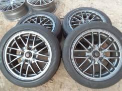 Black Racing. 7.0x16, 4x114.30, ET38