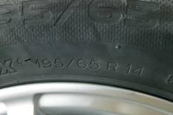Продам колеса R14 с резиной Michlen. x14 5x100.00