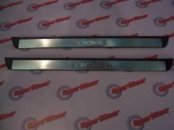 Накладка на порог. Toyota Crown Majesta, GRS180, GRS181, GRS182, GRS183, GRS184 Toyota Crown, GRS180, GRS181, GRS182, GRS183, GRS184 Двигатели: 2GRFSE...