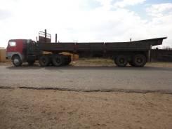 Камаз 5511. Продам или обменяю седельный тягач камаз 5511 с полуприцепом ОДАЗ 9370, 10 850 куб. см., 18 325 кг.