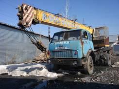 Ивановец КС-3577. Продается автокран Ивановец 14 тонник на базе МАЗ в Новосибирске, 11 150 куб. см., 14 000 кг., 14 м.