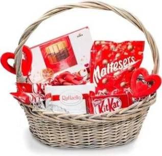Подарочный набор красного цвета!