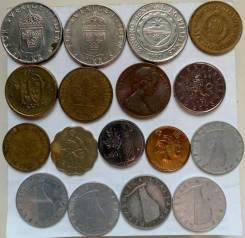 Монеты иностранные одним лотом! В наличии!