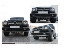 Защита бампера. Mercedes-Benz G-Class