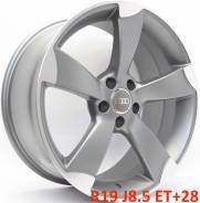 Audi. 8.5x19, 5x112.00, ET28, ЦО 66,6мм.