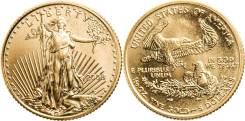 5 Долларов 2008 год Золото 917 BU (MS65-70)